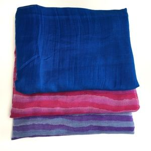 3/$25 SCARF SWIMSUIT WRAP SHAWL COVER UP Pack of 3